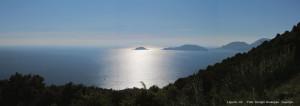 Golfo di La spezia da Monte Marcello copia